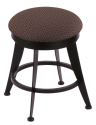 "900 Laser 18"" Vanity Stool w/ Axis Truffle Seat and 360 Swivel"