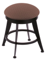 "900 Laser 18"" Vanity Stool w/ Axis Willow Seat and 360 Swivel"