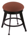 "900 Laser 18"" Vanity Stool w/ Rein Adobe Seat and 360 Swivel"