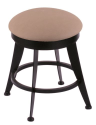 "900 Laser 18"" Vanity Stool w/ Rein Thatch Seat and 360 Swivel"