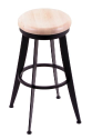 900 Laser Stool with Natural Maple Seat, 360 Swivel