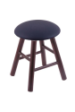 Vanity Stool with Allante Dark Blue Seat