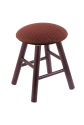 Vanity Stool with Axis Paprika Seat