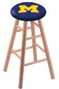 Oak Stools - Natural Finish - Design 1