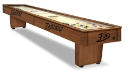 Anaheim Shuffleboard Table w/ Ducks Logo - Engraved