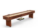 Arkansas Shuffleboard Table w/ Razorbacks Logo - Engraved