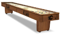 Calgary Shuffleboard Table w/ Flames Logo - Engraved