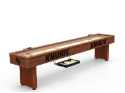 Central Florida Shuffleboard Table w/ Golden Knights Logo - Engraved