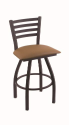XL 410 Jackie Stool with Allante Beechwood Seat and 360 Swivel