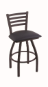 XL 410 Jackie Stool with Allante Dark Blue Seat and 360 Swivel