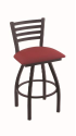 XL 410 Jackie Stool with Allante Wine Seat and 360 Swivel