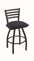 XL 410 Jackie Stool with Axis Denim Seat and 360 Swivel