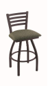XL 410 Jackie Stool with Axis Grove Seat and 360 Swivel