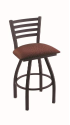 XL 410 Jackie Stool with Axis Paprika Seat and 360 Swivel