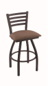 XL 410 Jackie Stool with Axis Willow Seat and 360 Swivel