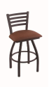 XL 410 Jackie Stool with Rein Adobe Seat and 360 Swivel