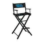 Carolina Panthers Bar Height Directors Chair
