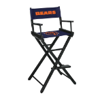 Chicago Bears Bar Height Directors Chair