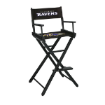 Baltimore Ravens Bar Height Directors Chair