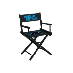 Carolina Panthers Table Height Directors Chair