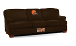 Cleveland Browns First Team Microfiber Sofa