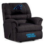 Carolina Panthers Big Daddy Microfiber Rocker Recliner