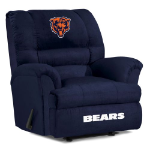 Chicago Bears Big Daddy Microfiber Rocker Recliner