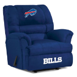 Buffalo Bills Big Daddy Microfiber Rocker Recliner