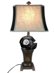Pittsburgh Trophy Lamp w/ Steelers Logo