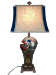 New England Trophy Lamp w/ Patriots Logo