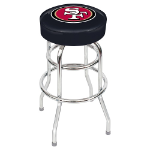 San Francisco 49ers Swivel Bar Stool by Imperial