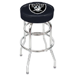 Oakland Raiders Swivel Bar Stool by Imperial