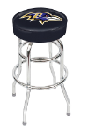 Baltimore Ravens Swivel Bar Stool by Imperial