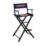 Auburn Tigers NCAA Bar Height Directors Chair