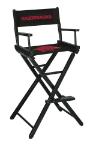 Arkansas Razorbacks NCAA Bar Height Directors Chair