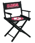 Alabama Crimson Tide NCAA Table Height Directors Chair