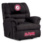 Alabama Crimson Tide NCAA Big Daddy Microfiber Rocker Recliner