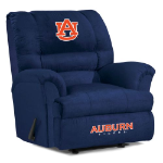 Auburn Tigers NCAA Big Daddy Microfiber Rocker Recliner