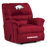Arkansas Razorbacks NCAA Big Daddy Microfiber Rocker Recliner