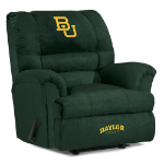Baylor Bears NCAA Big Daddy Microfiber Rocker Recliner