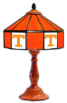 "Tennessee 21"" Table Lamp w/ Volunteers Logo - Stained Glass"