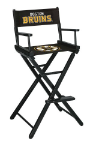 Boston Bruins NHL Bar Height Directors Chair