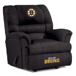 Boston Bruins NHL Big Daddy Microfiber Rocker Recliner