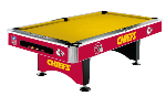 Kansas City Chiefs Pool Table by Imperial