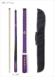 LSU Pool Cue w/ Tigers Logo - Carrying Case