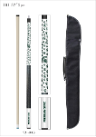 Michigan State Pool Cue w/ Spartans Logo - Carrying Case