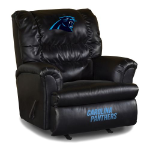 Carolina Panthers Big Daddy Leather Rocker Recliner