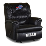 Buffalo Bills Big Daddy Leather Rocker Recliner