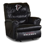 Atlanta Falcons Big Daddy Leather Rocker Recliner