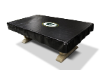 Green Bay Billiard Table Cover w/ Packers Logo - Naugahyde